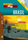 Capa Mapa Brasil - Guia 4 Rodas 2008.