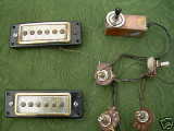 I'll use the pickups but not the wiring