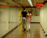 Couple in the underground