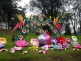 Also decked out for Lantern Festival