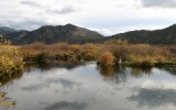 October Reflection, Portneuf River
