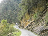 The main road, Namling, Bhutan