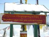 Message from Lord Buddha, Cheli la pass