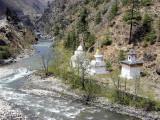 Chhuzom, Paro valley, Bhutan