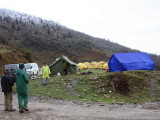 Camp site at Pele la