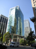West Hastings St at Burrard St, Downtown Vancouver