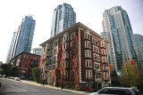 Melville Street at Bute Street, Downtown Vancouver