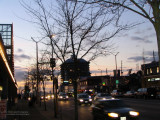 A winter evening in Burnaby Heights