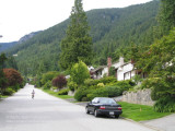Redonda Drive at the foot of Grouse Mountain, North Vancouver