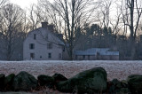 The Old Manse on a frosty morning