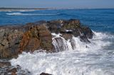 Breakers on the headland