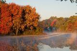 Sunny fall morning