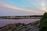 Perkins Cove at twilight