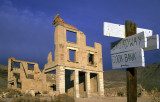 Cook Bank Building at Rhyolite