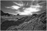 Rock Formations and Cloud Patterns
