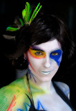 Marché Bonsecours  Body painting       decormoi.com