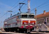 At Miramas depot, the CC6570 takes the pause.