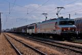 It's time to go back to Avignon with this long freight train and the BB26210 in vehicle.