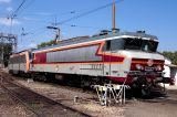 The CC6570 at Avignon depot after this nice tour between Avignon and Miramas.