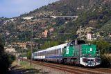 A test-train with the brand new BB60000 Class. Near Ventimiglia.