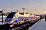 A TGV Duplex at Marseille Saint-Charles.