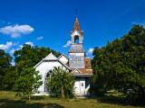 The First Presbyterian Church of Bartlett, TX. Built in 1899.
