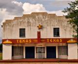 The Texas facade.