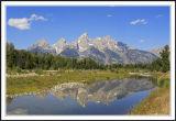 Grand Teton and Snake River