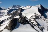 Kitzsteinhorn Mountain: View to Hohe Tauern Peaks