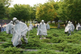 Korean War Memorial at Arlington Cemetery