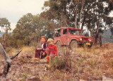 Castletop, NSW with her godfathers son