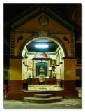 Saraswati Mandapam inside the temple
