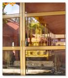 Golden Chariot of the Goddess- Inside glass room