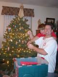 Tree Trimming, Christmas 06