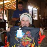 Christmas Day 06, Biking Shirt!