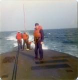 On Deck at Sea