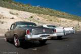 1956 Studebaker Hawk and 1963 Cadillac