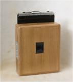 Selfmade 4x5  pinhole camera