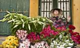 Hanoi Girl and Flowers