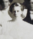 Alma was the eldest of four children born to, William Victor Johnson & his wife, Alena [Barnes] Johnson. She was born in, White Cloud, Newaygo, MI on 23 March 1984. In Newberry, Luce, MI, on 15 February 1915 she married, George Emil Mattson. Together this couple shared six children. Above we see Alma in a shot dated 1909.