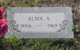 Alma died in Newberry, Luce, MI on 15 April 1969. She's buried with her husband in Forest Home Cemetery, Newberry, Luce, MI.