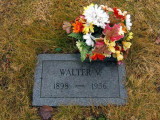 Walter was the third of four children, and the only son to be born to, William Victor Johnson and his wife, Alena [Barnes] Johnson. He was born in Newberry, Luce, MI on 28 August 1898. In 1924 he married, Viola Nieme. Together this couple would share one known child, a daughter. Walter died in Newberry on, 04 August 1955. He is buried in Forest Home Cemetery, Newberry.