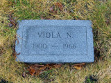 Viola married, Walter Victor Johnson in 1924. Togteher they had one daughter; Mary.