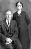 Shown above are, Andrew Mattson & his wife, Hannah Sofia [Johnson] Mattson.