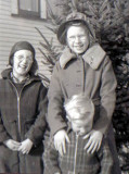 Shown above are, Paul Richard Mattson, with his sister, Eleanor Jean Mattson, and, his brother, William Andrew Mattson.