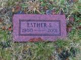 Gravestone in Forest Home Cemetery, Newbrry, Luce, MI.