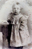Marian L. Mattson was the eighth child of thirteen & the second daughter born to, Andrew Victor Mattson & his wife, Hannah Sofia [Johnson] Mattson on, 22 November 1904, in Boyne Falls, Michigan. On 26 December 1924 in, Iron Mountain, Michigan, she married, Norman Shelson. Together Marian & Norman would share eight known children. She died in Bangor Bay Michigan on, 14 July 1990. She's buried in Oak Rudge Cemetery, Boyne City, Leelanau, MI.