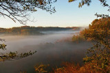 Red River Gorge, Rush Creek valley.