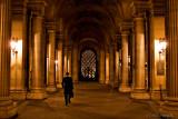 Towards Louvre