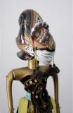 Wayang Golek Puppet - Draupadi